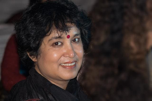 Exiled Bangladeshi author Taslima Nasrin.(Taslima Nasrin)