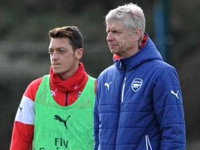 Wenger has insisted that talks continue between the club and Ozil over an extended contract at Emirates Stadium.