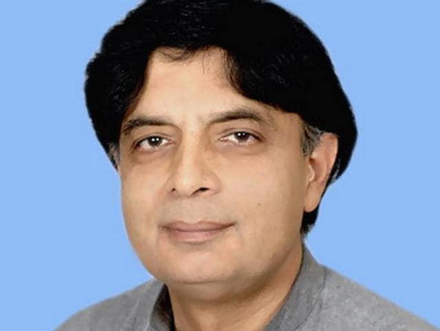 File photo of Pakistan interior minister Nisar Ali Khan.