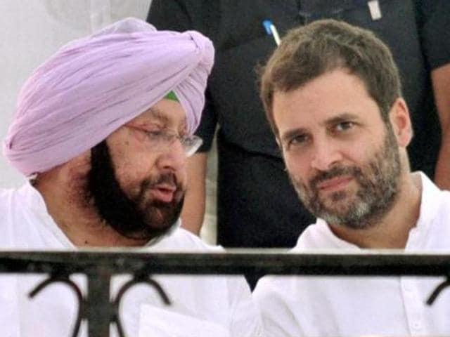 Rahul Gandhi,Amarinder,PPCC
