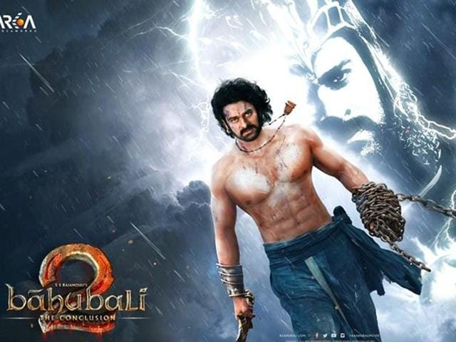Baahubali 2's first look: A son rises to avenge his father's killing.