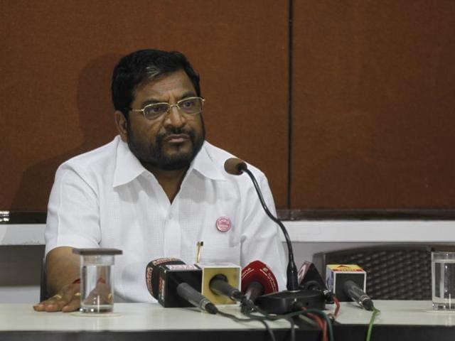 Swabhimani Shetkari Sanghataana leader and Lok Sabha Member Raju Shetty.
