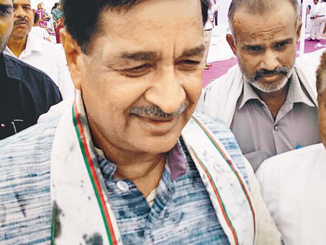 Ink attack,Kurukshetra police,Bharatiya Janata Party