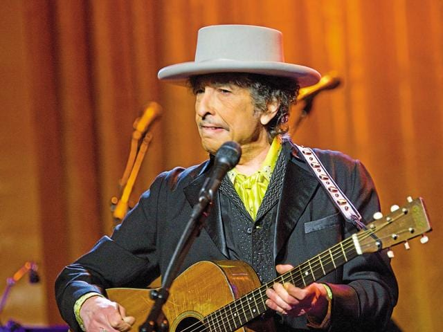 I don't remember the last time I pulled out a Dylan album, but after he won the Nobel Prize, there were no excuses.(Getty Images)