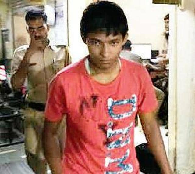 Mayank Kumrawat, who was sentenced to life in prison for murdering his father.