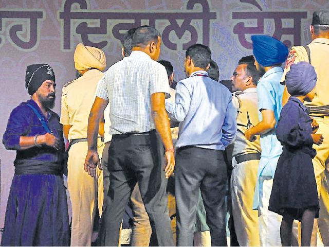 People at swadeshi mela in SAS Nagar on Saturday.