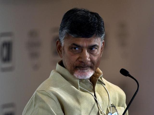 Chief minister of Andhra Pradesh, N Chandrababu Naidu equated the opposition parties in AP with terrorists for hindering the development in the state.