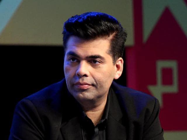 Indian director-producer Karan Johar attends the Jio MAMI 18th Mumbai Film Festival Movie Mela for the upcoming Hindi film Ae Dil Hai Mushkil.