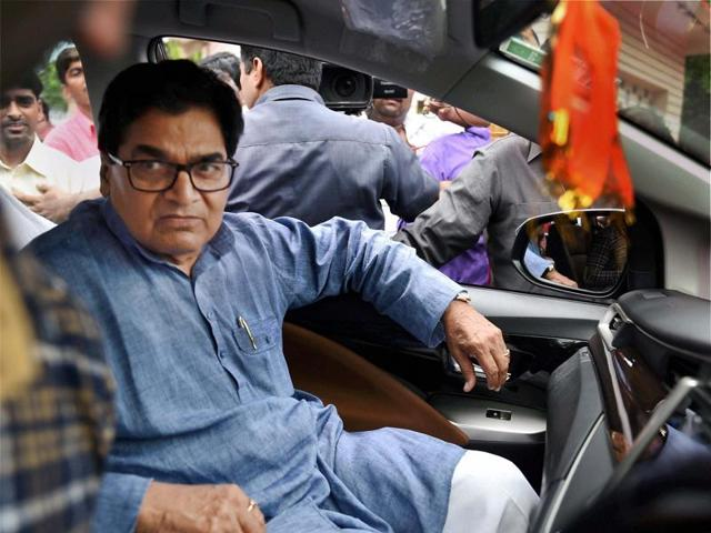 Mulayam Singh Yadav removed his brother Ramgopal Yadav (pictured above) from the party on allegations of colluding with BJP.