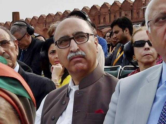 Pakistan's high commissioner Abdul Basit  also said that Kashmir is the root cause of all the problem in the region.