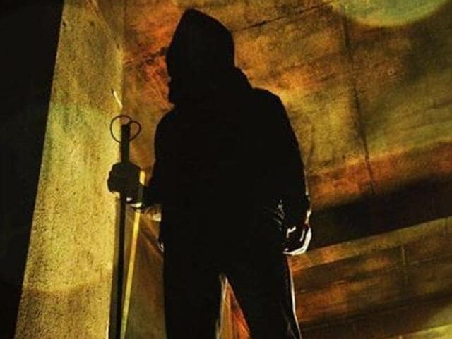 "The 42-year-old star took to his official Instagram handle to share the new poster of the movie and captioned it,""The darkness was his playground. #MindSeesAll""."
