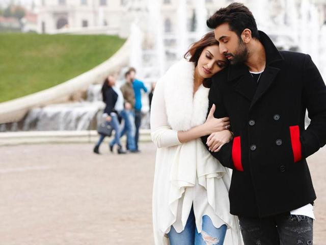 Actors Ranbir Kapoor and Aishwarya Rai Bachchan in a still from Ae Dil Hai Mushkil.