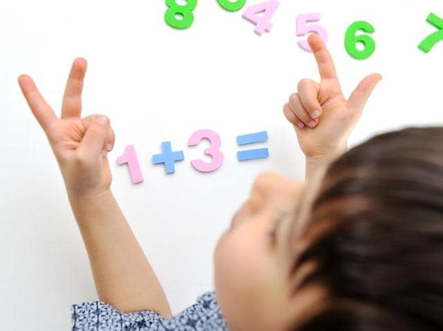 Finger perception - the ability to distinguish, name, or recognise the fingers - is associated with math skill and even when people are not manually ticking off numbers, areas of the brain associated with fingers are still activated.
