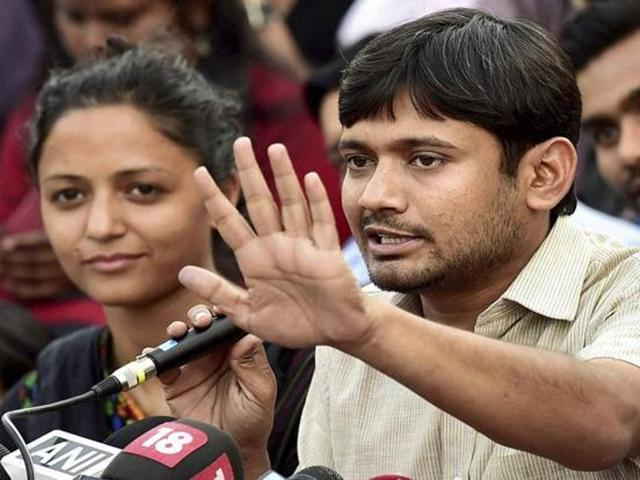 """On the issue of being called """"anti-India"""" by some political leaders, Kanhaiya said: """"Some people call me anti-India. Modi is not India but for some he is."""""""