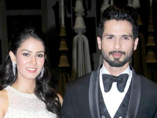 Shahid and Mira wed last year and recently welcomed their first baby, daughter Misha.