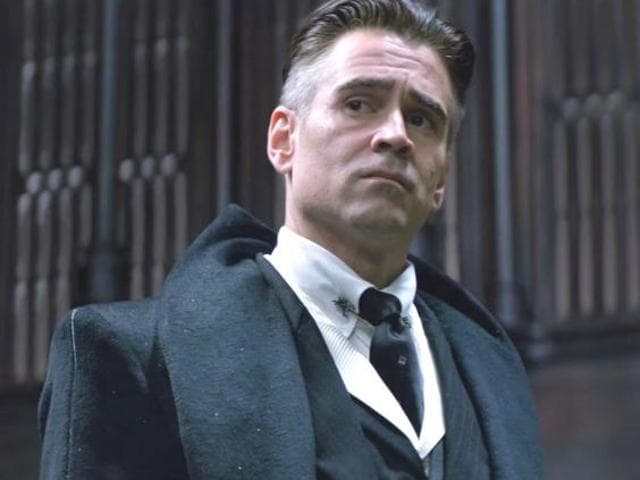 Colin Farrell,Harry Potter,Fantastic Beasts and Where To Find Them