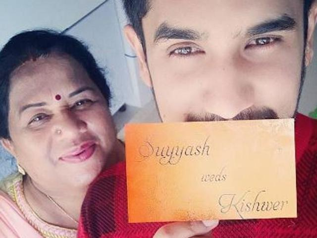What is that? Suyyash and Kishwer's wedding card?