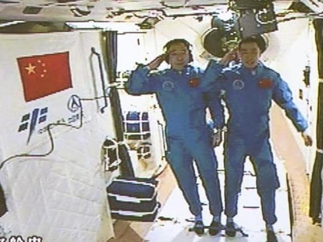 China,Space lab,Tiangong-2