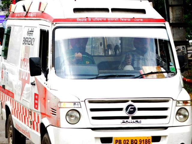 Ziqitza took over ambulance services this week in the state.(File photo)