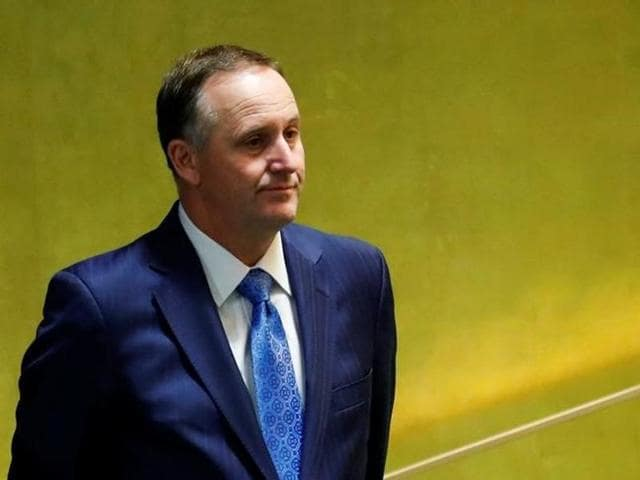 New Zealand Prime Minister John Key, who was to land in Mumbai on Monday at 6:30pm, will now be arriving in Delhi on Tuesday evening.