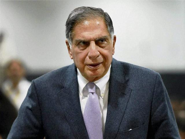 A file photo of Ratan Tata, who is making a comeback at Tata Sons' interim chairman for four months.