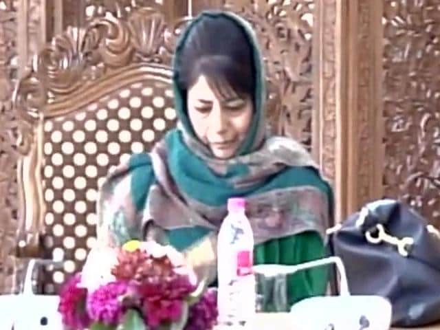 Jammu and Kashmir CMMehbooba Mufti chairs meeting of Unified Headquarters.