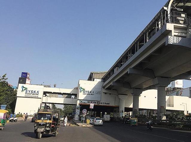 Metro stations Gurgaon