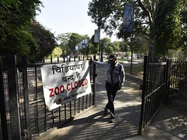 Delhi Zoo was shut after some of the birds found dead within the premises tested positive for bird flu