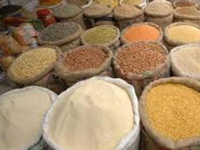 The kharif crops — cultivated between June and November — include rice , bajra; pulses such as tur, mung, udid and oilseeds, among others