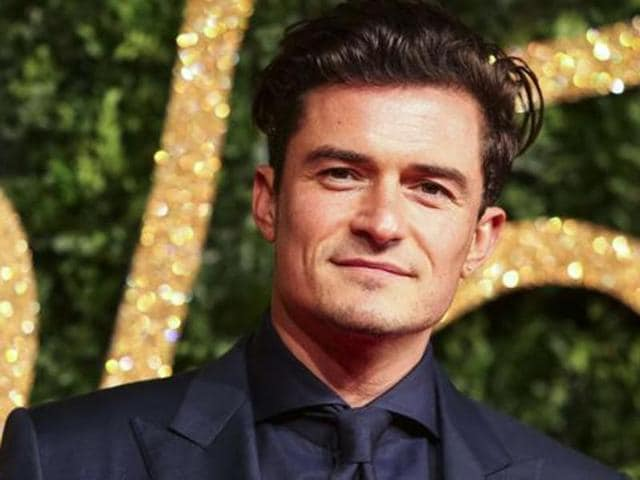 Orlando Bloom was shooting in China.