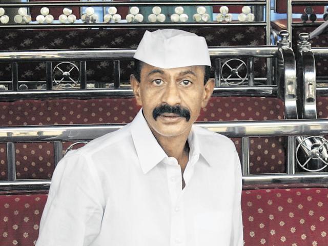 Gangster Arun Gawli.