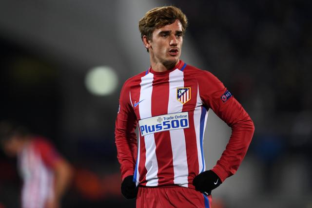 Griezmann beat the two most popular contenders, Messi and Ronaldo, for the award.(AP)