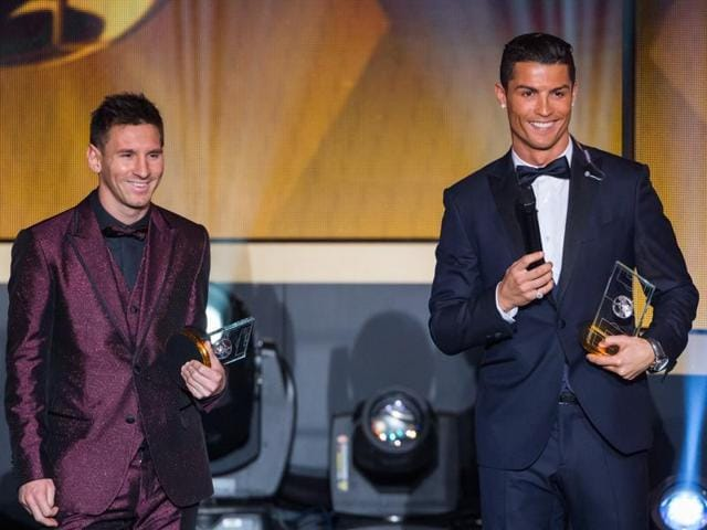 Five-time winner Messi and three-time victor Ronaldo have taken the coveted accolade every year since 2007.
