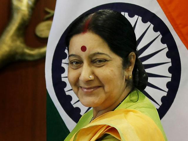 External affairs minister Sushma Swaraj was admitted to the AIIMS for a medical check-up.