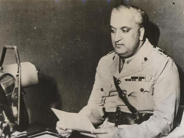 A file photo from 1943 of the last king of Kashmir Maharaja Hari Singh.www.columbia.edu)