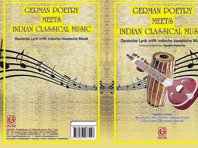 German poetry,Nandini Datta Jha,Indian classical music