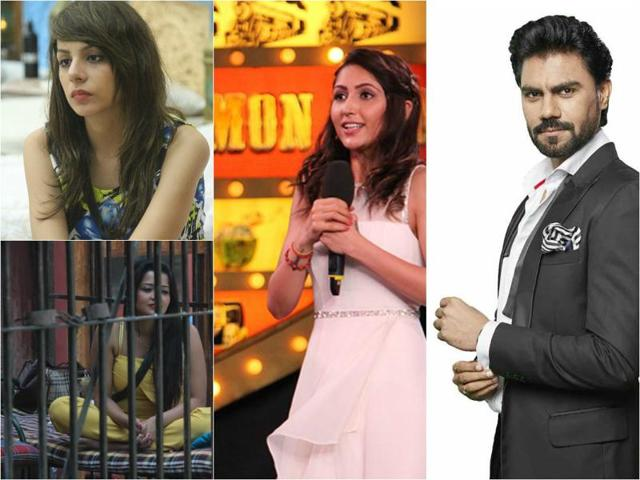 In a dramatic open nomination, Nitibha Kaul, Rohan Mehra, Monalisa, Akansha Sharma, Manoj Manu Punjabi, Manveer Gurjar and Gaurav Chopra were nominated for elimination from ongoing reality show Bigg Boss 10.