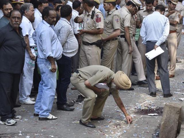 Naya Bazar,explosion,old Delhi blast