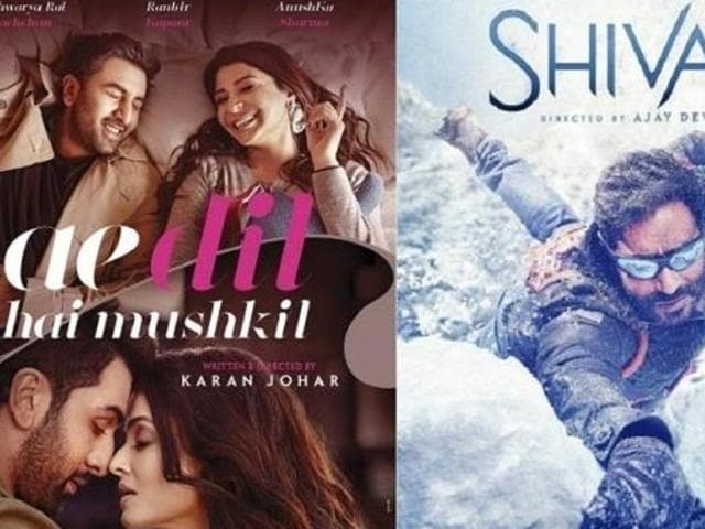 Pakistani censor board is all set to watch Shivaay and Ae Dil Hai Mushkil, paving way for the release of the two films this Friday.