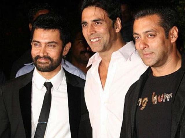 Akshay Kumar,Salman Khan,Aamir Khan