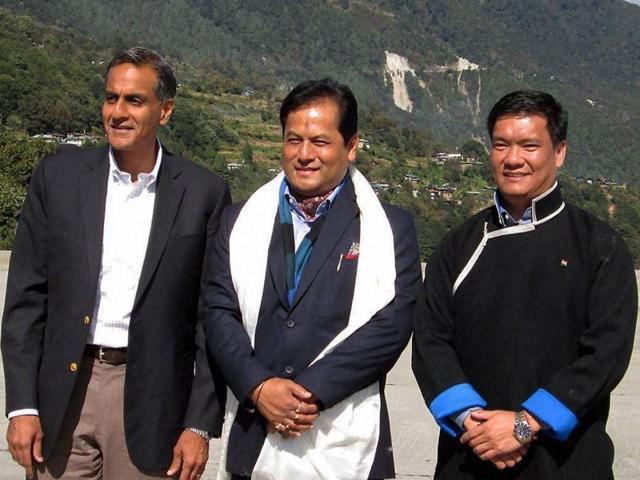 China,Arunachal Pradesh,Richard Verma