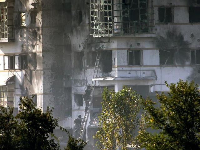 Kashmir fire