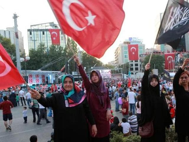 The government crackdown in the coup's aftermath has strained Turkey's ties with key allies including the United States.
