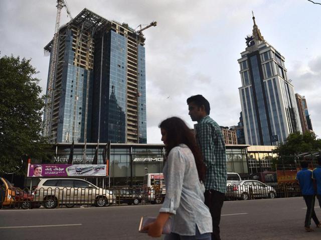 The properties of Vijay Mallya and the UB house in UB City mall in Bengaluru.