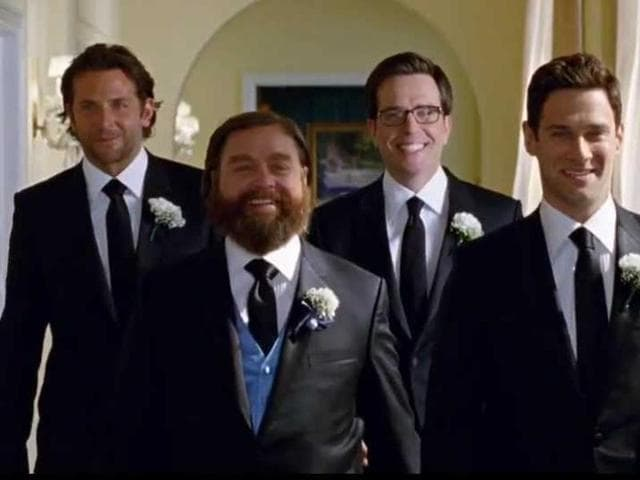 Interestingly, Bradley Cooper starred in the movie Wedding Crashers.