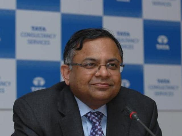 TCS MD and CEO N Chandrasekaran (left)  and JLR CEO Ralf Speth