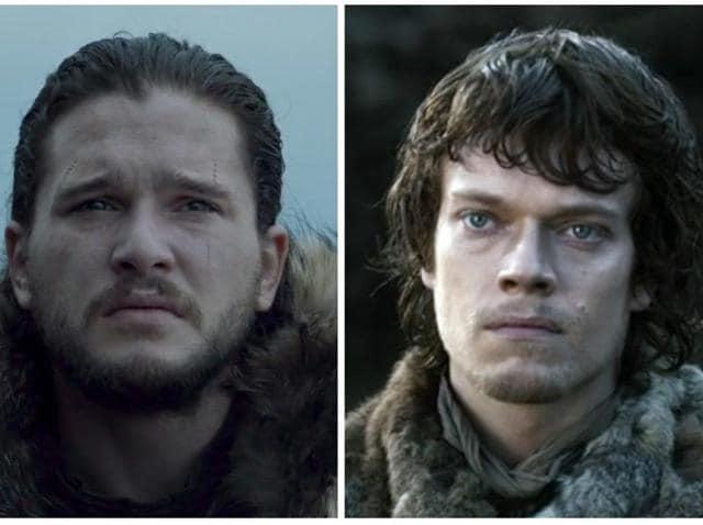 Game of Thrones,Jon Snow,Theon Greyjoy