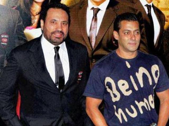 Salman Khan's bodyguard is often seen by his side, shielding him from fans.