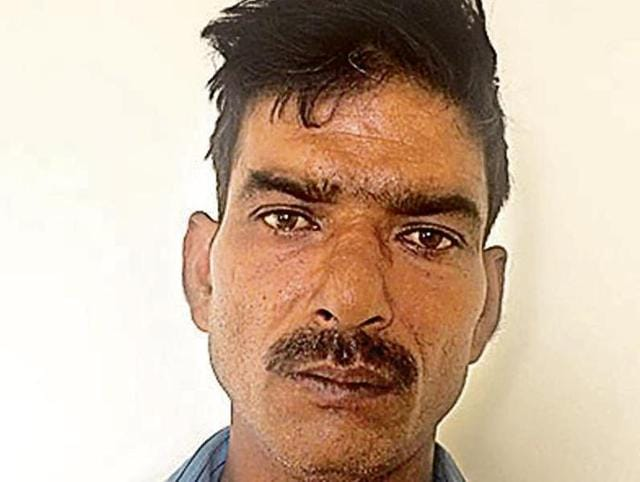 Nanhe Bawariya, 40, who faked his death, was on the run and was hiding in Haryana under a false name.