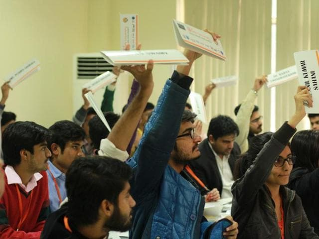 What started with 90 odd members, has now bloomed into a 400-delegate body, with members from over 22 universities and 12 schools, as seen in previous editions.